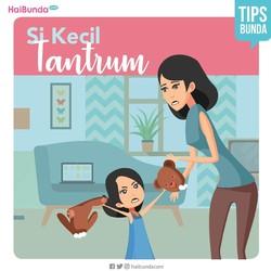 Tips Menghadapi Anak Tantrum