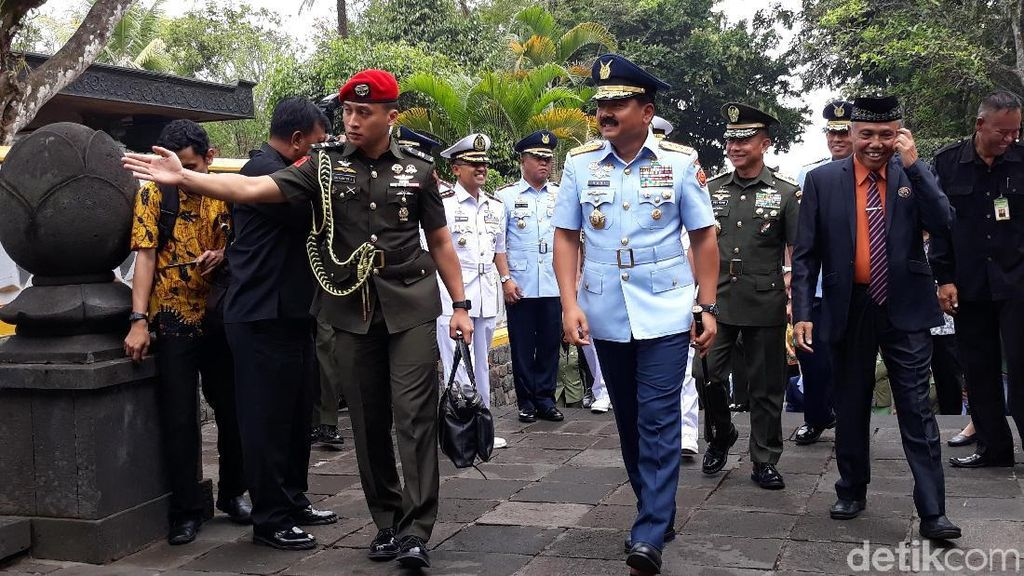 HUT ke-73 TNI Digelar Sederhana di 4 Titik dari Sabang sampai Merauke