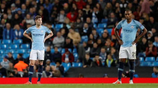Manchester City harus menelan kekalahan di laga perdana Liga Champions musim ini.