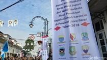 Ups, Lambang Kabupaten Bandung Barat di Acara Pelantikan Salah