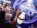 Miniatur Pesawat Habibie Jadi Primadona di Festival Ini