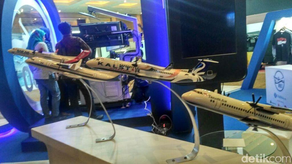 Pesawat hingga Robot Buatan RI Mejeng di Kemayoran