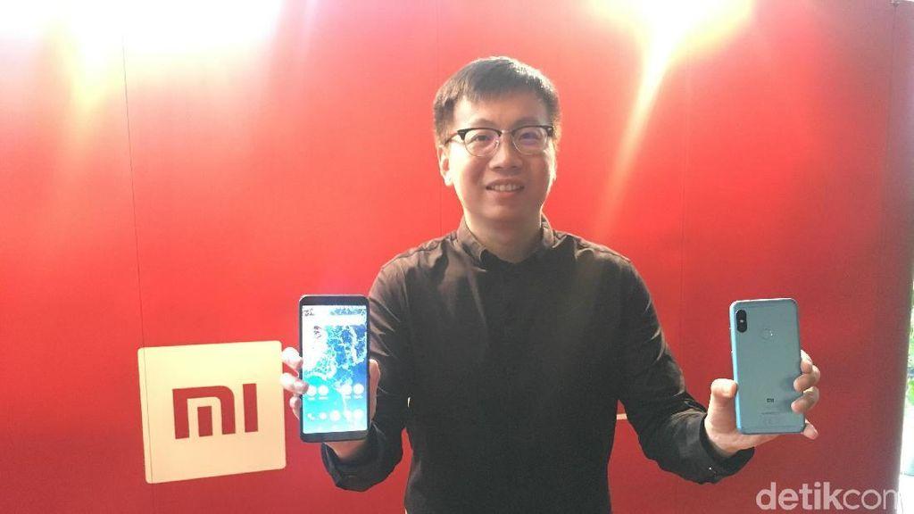 Xiaomi memperkenalkan Mi A2 dan Mi A2 Lite untuk meramaikan pasar ponsel Indonesia. (Foto: Agus Tri Haryanto/detikINET)