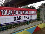 Gerindra Tepis Poster Tolak Wagub dari PKS: Salah Alamat Itu!
