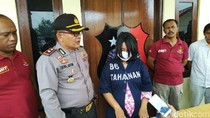Wanita Hamil Curi Helm hingga Motor, Aksinya Terekam CCTV