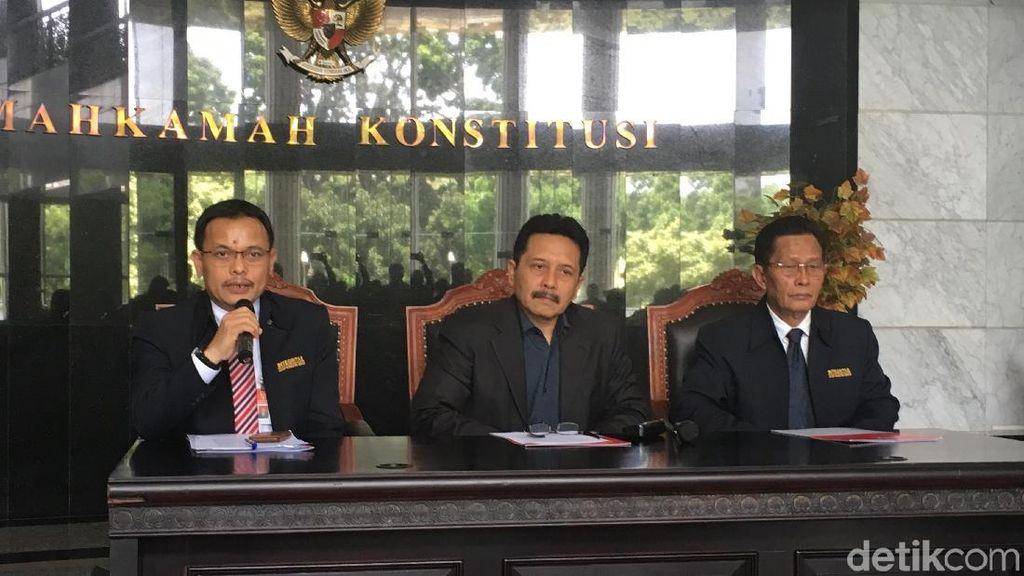 MK Tegaskan Calon Senator dari Parpol Dilarang Ikut Pemilu 2019