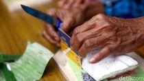 Aksi Emak-emak Lomba Potong Tempe Setipis Kartu ATM