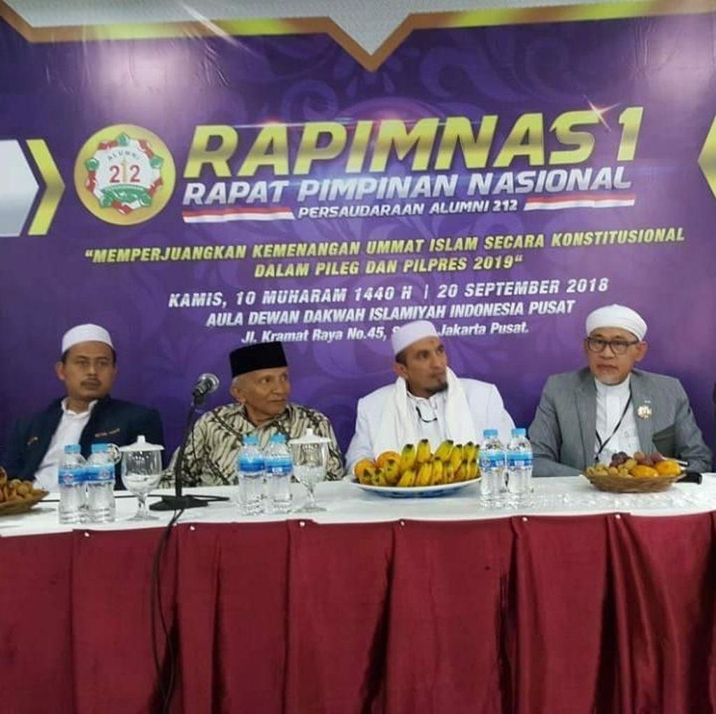 PA 212 Gelar Rapimnas Bahas Pemenangan Prabowo-Sandiaga