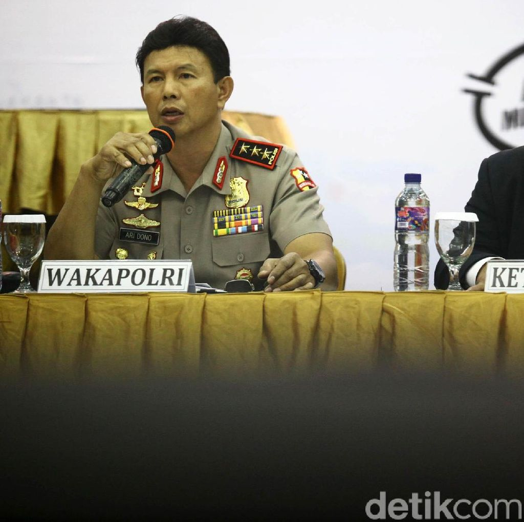 452 Polisi Siap Kawal Kampanye Jokowi-Maruf dan Prabowo-Sandi