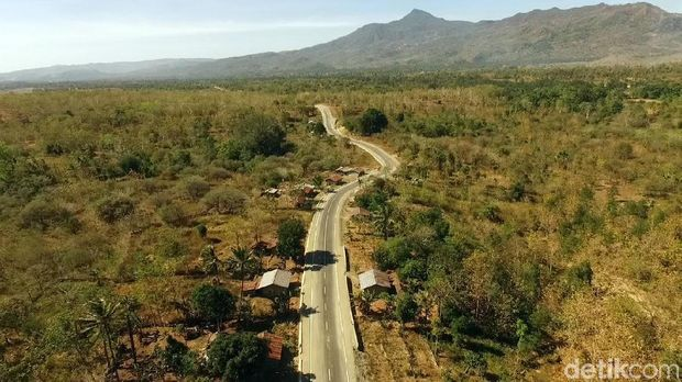 Jalan Perbatasan di NTT