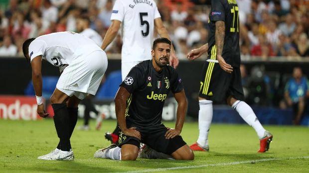 Sami Khedira kini menjadi andalan Juventus di lini tengah.