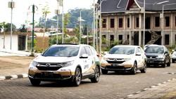 Jelajah Nusantara 21.000 Km Bareng CR-V Turbo Sambangi Padang