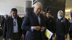Najib Razak Diperiksa Polisi Sebelum Disidang Soal Dana 1MDB