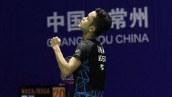 Anthony Ginting Juara China Terbuka, Taufik Hidayat Beri Pujian