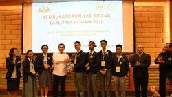 Ingin Milenial Melek Politik, DPR Gelar Parlemen Remaja 2018