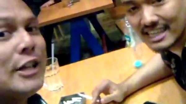 Ini Reka Adegan saat Dede Richo Idol Jebol Kaca Mobil