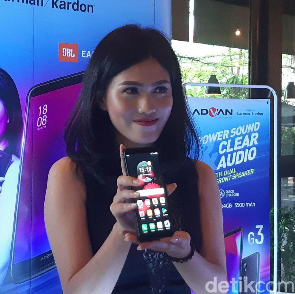 Smartphone Indonesia Ini Hadir dengan Audio Harman Kardon