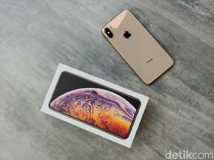 iPhone XS Max baru saja dinyatakan lulus TKDN oleh Kemenperin. Foto: detikINET/Adi Fida Rahman