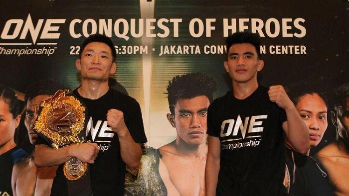 Dua petarung utama ONE Championhip edisi Jakarta (dok.ONE Championship)
