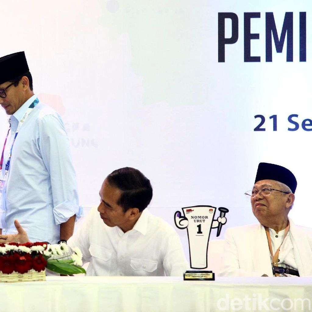 Perang Kubu Jokowi Vs Prabowo Setelah Dapat Nomor Urut 1