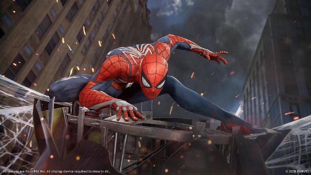 Game Spider-Man Salip God of War, Lampaui Film Homecoming