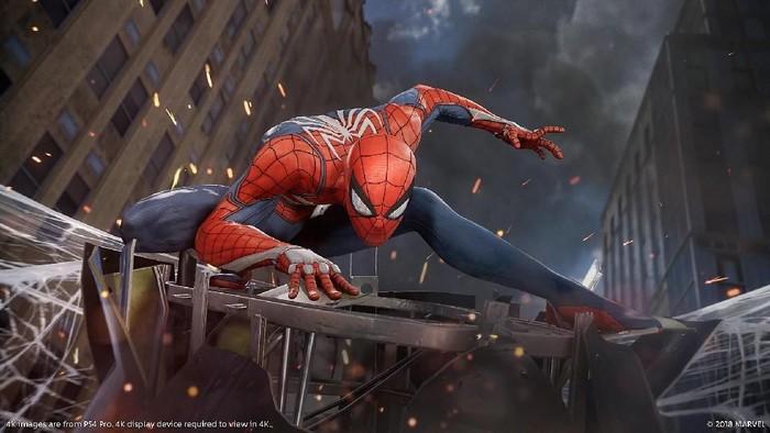 Marvels Spider-Man menyalip penjualan game God of War dan melampaui pendapatan film Spider-Man: Homecoming (Foto: PlayStation.com)