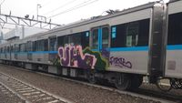 Cegah Aksi Coret Kereta Terulang, Ini Langkah MRT Jakarta