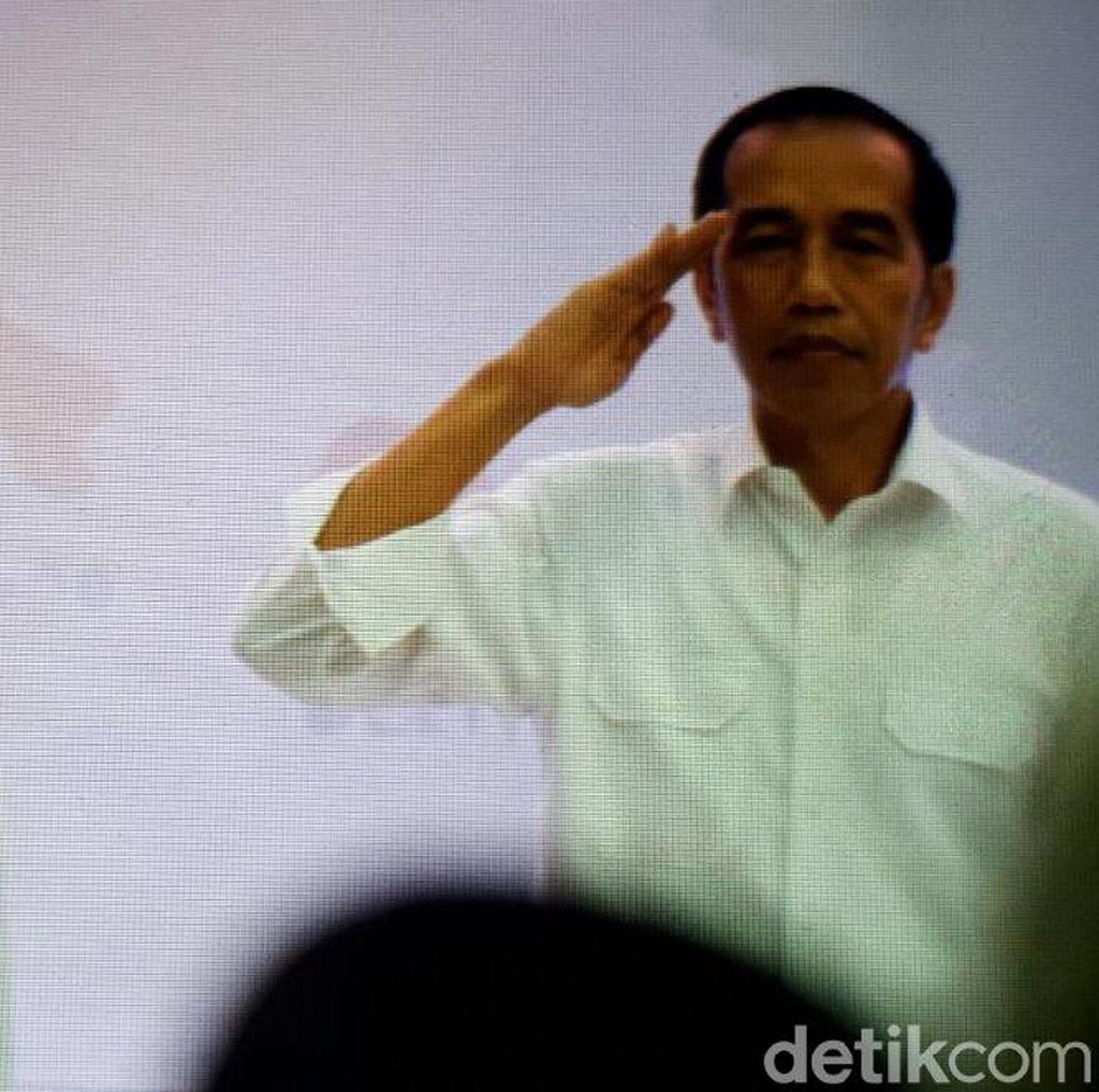 Gerindra Kritik Sikap Hormat Jokowi Saat Lagu Indonesia Raya