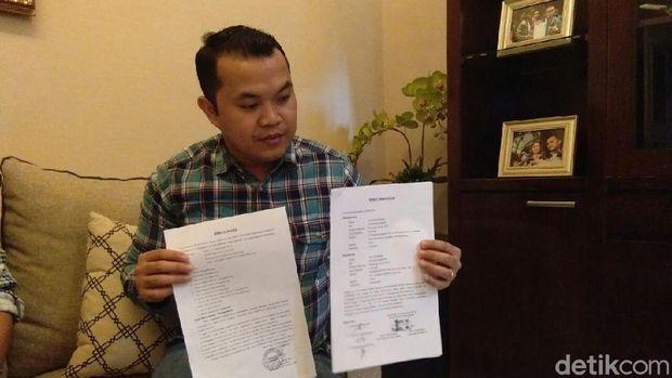 Pak Eko juga mengirim surat ke Presiden Jokowi.