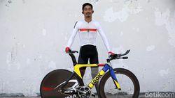 M Fadli, Atlet Balap Sepeda Siap Melesat di Asian Para Games