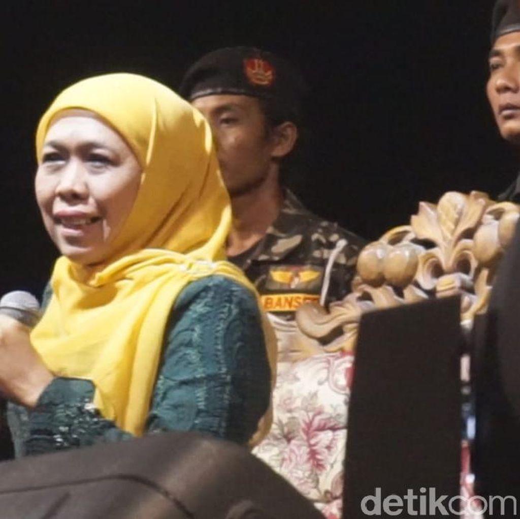 Dukung Jokowi di Pilpres 2019, Khofifah: Tak Ada Masalah dengan PD