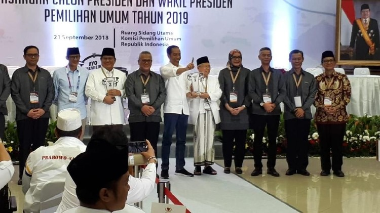 Makna 0 di Depan Nomor Urut Jokowi vs Prabowo