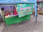 Jumat Beramal, TNI di Ciamis Buka Warung Ikhlas