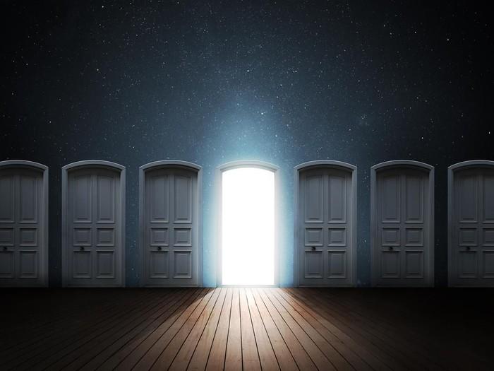 Ilustrasi pintu. Foto: iStock