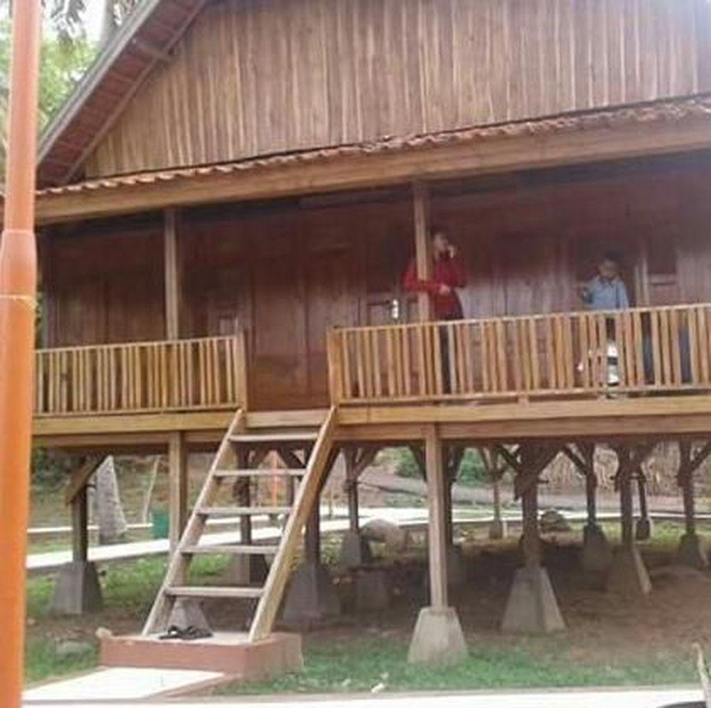 Foto: Tak Sembarangan Bangun Rumah Tradisional di Bima