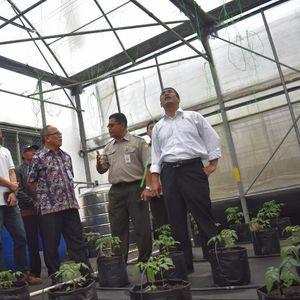 Mentan Minta Balai Pelatihan Pertanian Lembang Terus Berinovasi