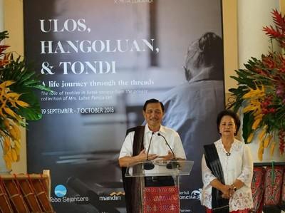Menpar: Kain Ulos Bantu Danau Toba Raih UNESCO Global Geopark