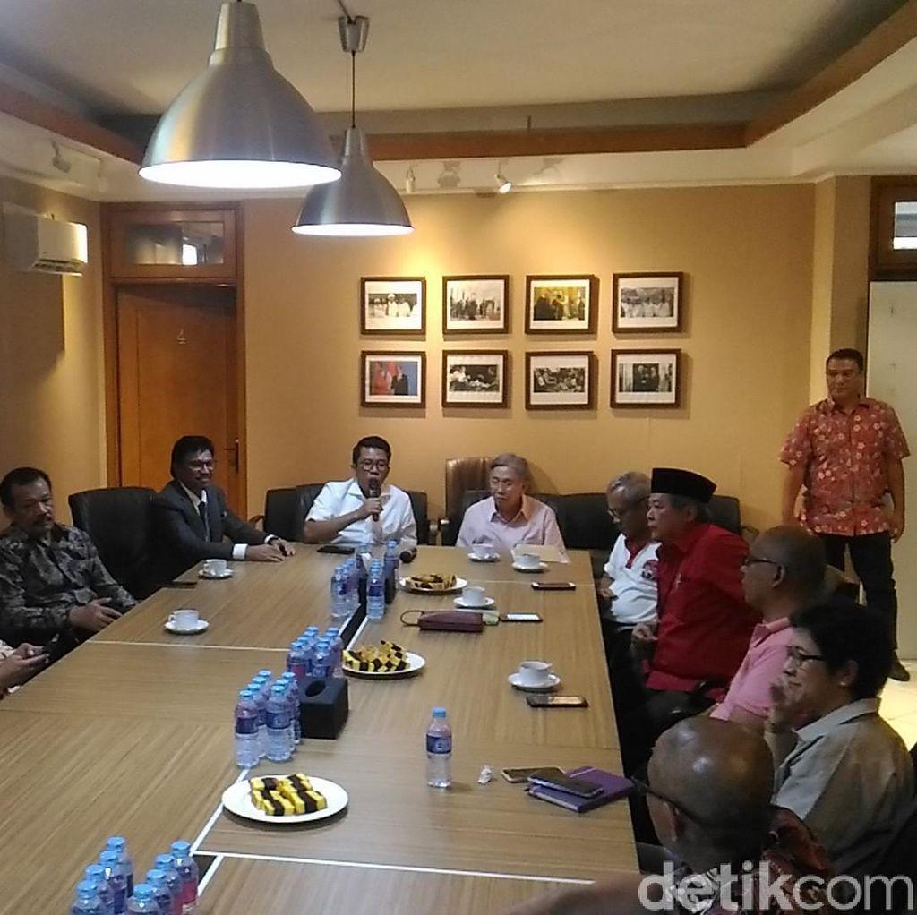 Kwik Kian Gie Ikut FGD Soal Ekonomi di Posko Jokowi-Maruf