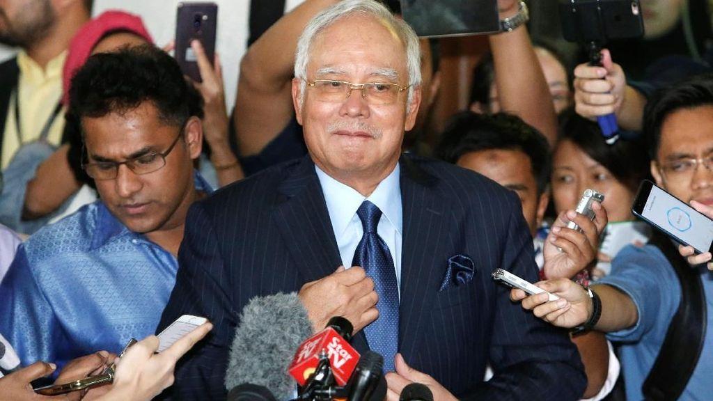 Ditangkap Usai Aksi 812, Najib Didakwa Besok Bersama Eks Bos 1MDB