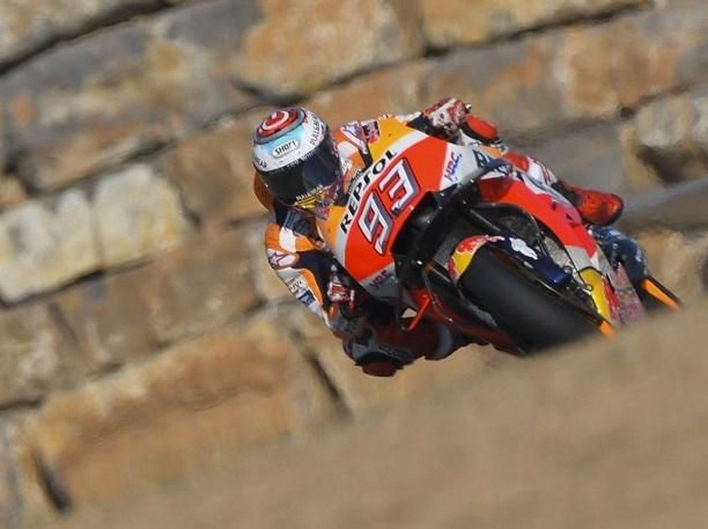 Hasil MotoGP Aragon: Marquez Finis Terdepan