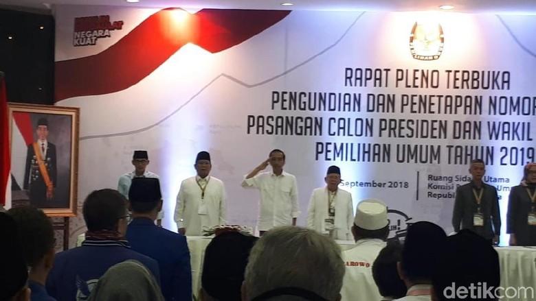 Soal Jokowi Hormat Saat Lagu Indonesia Raya, PDIP: Kesalahan Minor