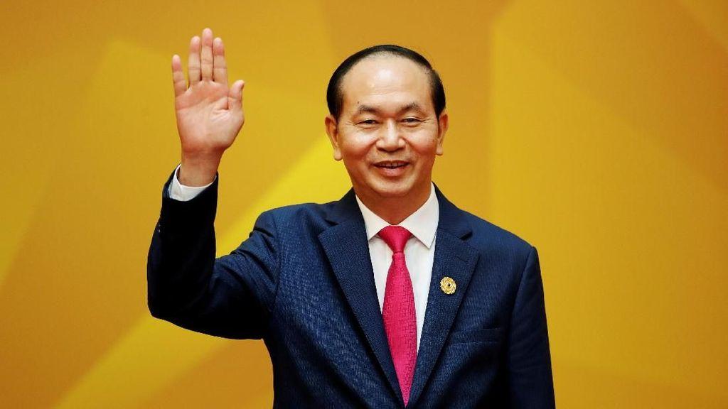 Potret Presiden Vietnam yang Meninggal di Usia 61 Tahun