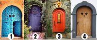 Pilih Satu dari 4 Pintu Menuju Kebahagiaan, Kepribadianmu akan Terungkap