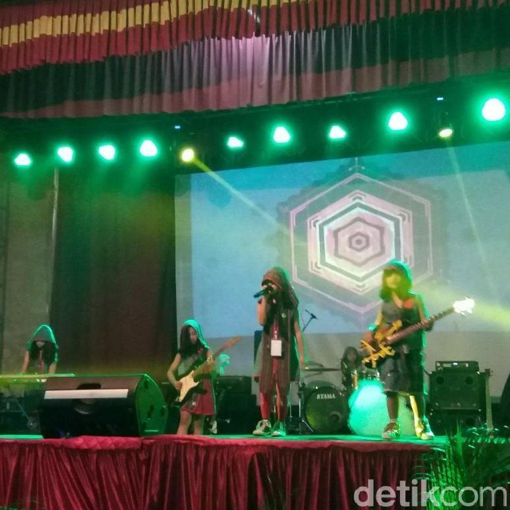Grup Band Rock Cilik Asal Malang ini Seriusi Garap Album