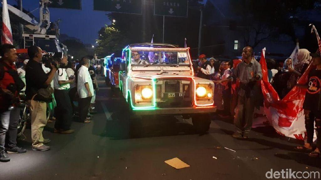Jokowi-Maruf akan Naik Mobil Hias dari Tugu Proklamasi Menuju KPU