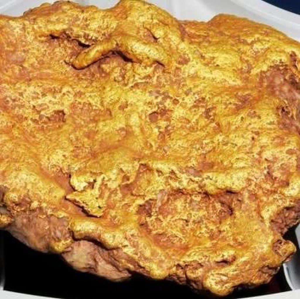 Bongkahan Emas Bernilai Rp 1 M Ditemukan di Australia Barat