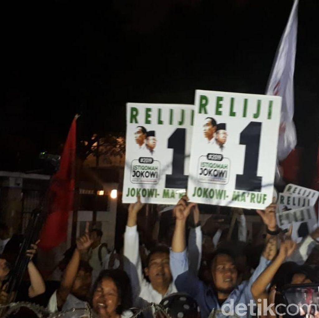 Jokowi-Maruf Nomor 1, Relawan Teriak Jokowi Satu Kali Lagi