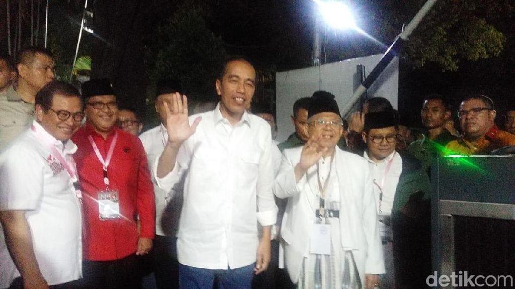 Jokowi-Maruf Amin Jadi Nomor Urut Satu Tergambar di Ilustrasi Ini