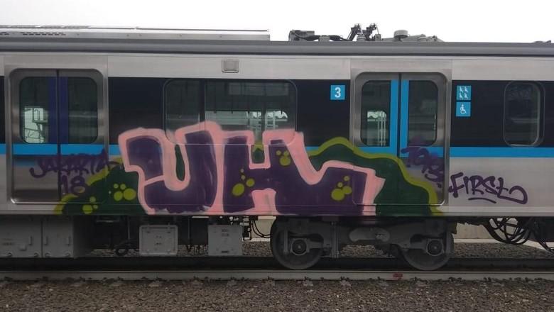 Pelaku Vandalisme MRT Diduga Sering Berpindah-pindah Negara