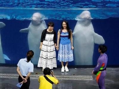Potret Penjara Paus dan Lumba di China